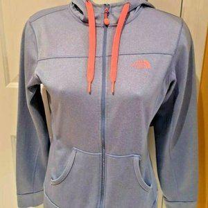 NorthFace Hoodie Zip Up Sweater Size M Pink